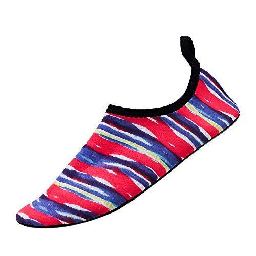Vovotrade 2019 Printemps/Automne Nouveau Hommes Femmes Chaussures d'eau Séchage Rapide Sports Aqua Chaussures Aquatiques Chaussures de Plage Chaussures d'eau Poids Léger Séchage Rapide Chaussures