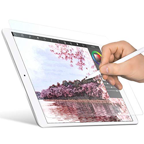 ELECOM Paper-Feel Screen Protector Compatible with 10.5 inch iPad/iPad Air(2019), iPad Pro(2017) / Drawing, Anti Glare, Scratch Resistant/Bond Type/TB-A17FLAPL