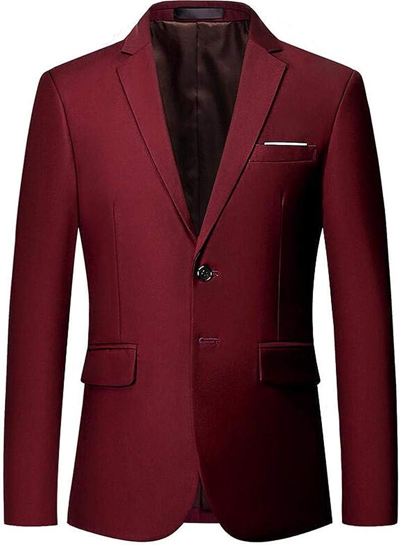 Men's Suit Blazer Classic Slim Fit Suit Blazer Prom Blazer Jackets