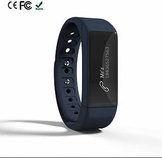 Pulsera Inteligente Calorias,Pulsera Actividad Inteligente con Contador de pasos Monitor de Calorías Monitor de Ritmo Cardíaco y Sueño Notificación de mensajes Bluetooth Compatible con IOS y Android