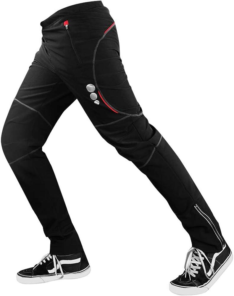 d.Stil Pantalones de ciclismo MTB de manga larga transpirable Para Hombre