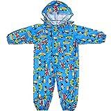 Combinaison Impermeable Enfant - Manteau à Capuche Ponchos de Pluie Veste Fille Garçon Manches Longues Vêtements
