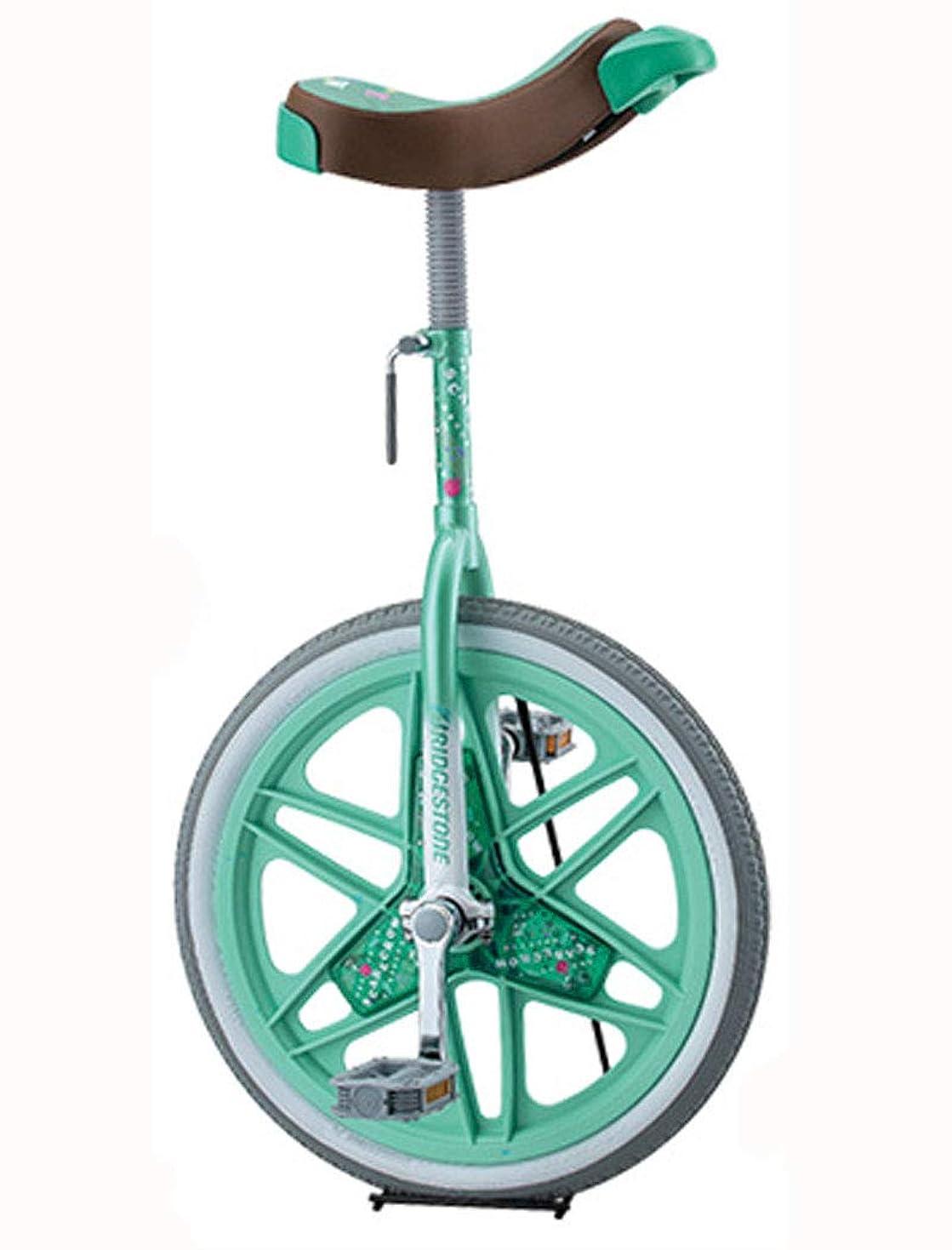 不定彼女のしばしばBRIDGESTONE(ブリヂストン) スケアクロウ 一輪車(スタンド付) 18インチ(SCW18) [グリーン(GE)]