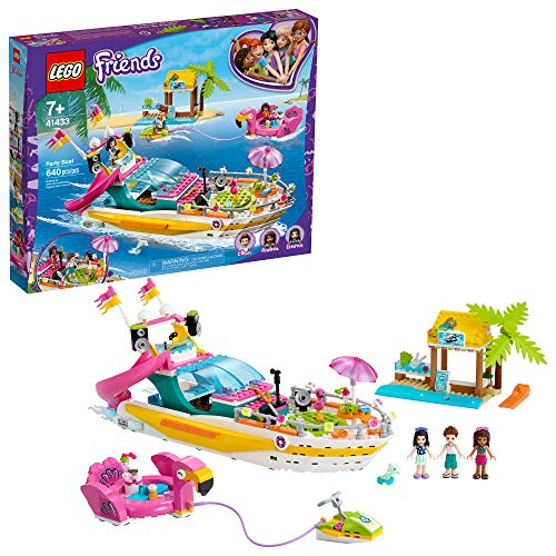 LEGO Friends Party Boat 41433 Build…