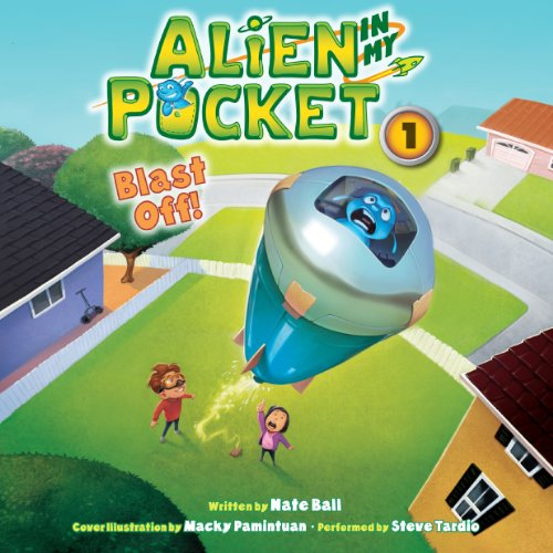 Alien in My Pocket audiobook cover art