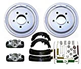 Mac Auto Parts New Drums Shoes Spring Wheel Cyl. for 03-09 Ranger W Larger 10inch Rear Drums 6p