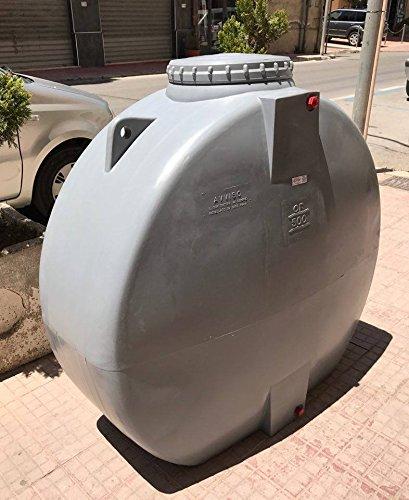 Cisterna Depósito Caja de polietelene Alimentos Agua L 500Salva espacio