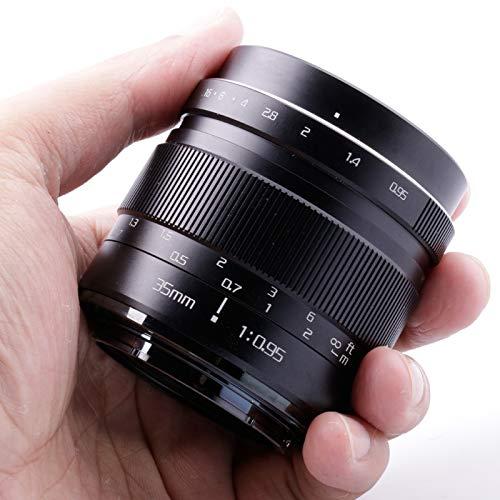 Risespray 35 mm f/0,95 große Blende Mark III Standard-Objektiv für spiegellose Kamera, Sony E-Mount, 35mm f/0.95