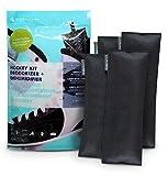 Ever Bamboo Hockey Gear Deodorizer Bag Set w/Bamboo Charcoal (4-Pack, 4 x 50 g)
