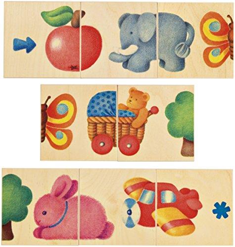 Selecta 62006 Bilderkette, Legespiel aus Holz, 8 Teile, Mehrfarbig