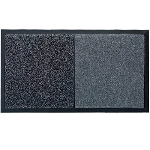 Nisorpa 3x4 Feet Sanitizing Mats for Shoes Soles Large Disinfectant Rug Shoe Sanitizer Mat Disinfecting Indoor Outdoor Entrance Sanitizing Doormat Disinfection Footbath Mat 0.35'' Thick Non Slip Tray
