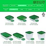 Zoom IMG-1 mcnory set di contenitori per