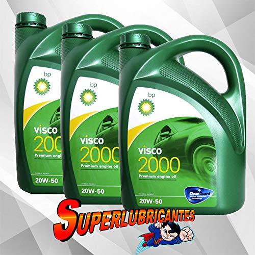 BP Visco 2000 20W50 3x5L(15Litros)