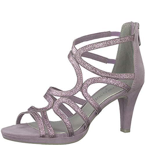 MARCO TOZZI Damen 2-2-28373-22 Geschlossene Sandalen, Pink (Lavender Comb 555), 38 EU