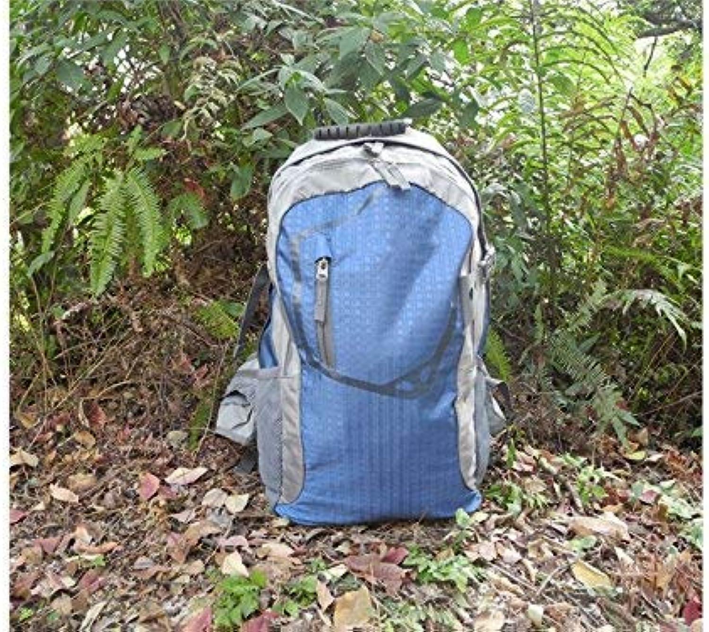 Qsoleil Trekking Rucksack mit hoher Kapazität Wasserdichter Outdoor- und Indoor-Multifunktions-Outdoor-Bergsteigen-Rucksack Wandern Reiserucksäcke (Blau) B07LCJTTJV  Feinbearbeitung