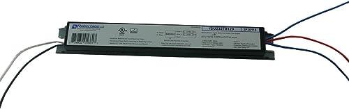 ROBERTSON 3P20116 eBallast, Instant Start, NPF, 1 or 2 Lamp F32T8, 120Vac, 60 Hz, Model ISU232T8120 BA (Replaces Robe...