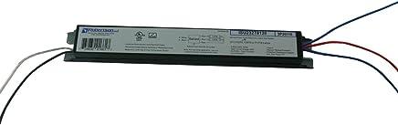 ROBERTSON 3P20116 eBallast, Instant Start, NPF, 1 or 2 Lamp F32T8, 120Vac
