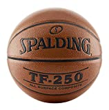 Spalding TF-250 Indoor-Outdoor Basketball Orange, Size 7