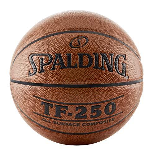 Spalding TF-250 Indoor-Outdoor Basketball Orange, Size 7