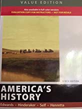 America's History Combined Vols. 1 & 2 Value Edition Instructor's 9th Evaluation Edition