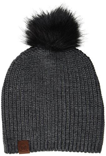 Buff BH115405.909.10.00 BH Knitted Hat ADALWOLF Steel Grey Unisex-Adult, Gris Acero, Taille Unique