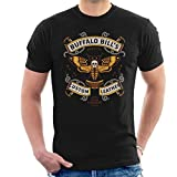Photo de Cloud City 7 Silence of The Lambs Buffalo Bills Custom Leather Men's T-Shirt par