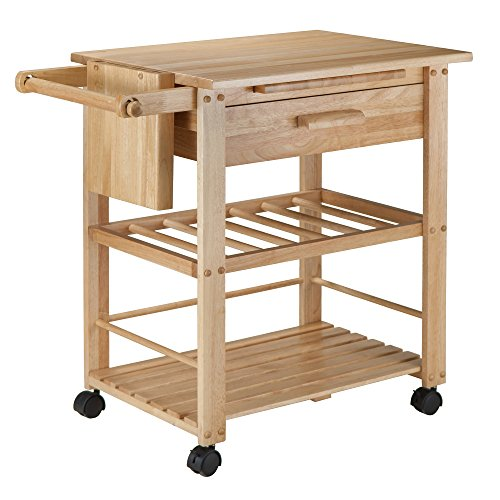 Winsome Wood Finland Kitchen Cart