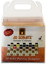 Jo Sonja's Artists' Colours Sampler Set of 10 20 ml Tubes - Assorted Colors