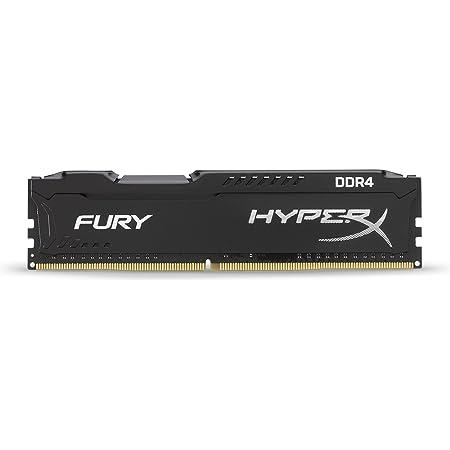 Hyperx Hx424c15fb 4 Fury Schwarz Ddr4 4gb 2400mhz Cl15 Computer Zubehör