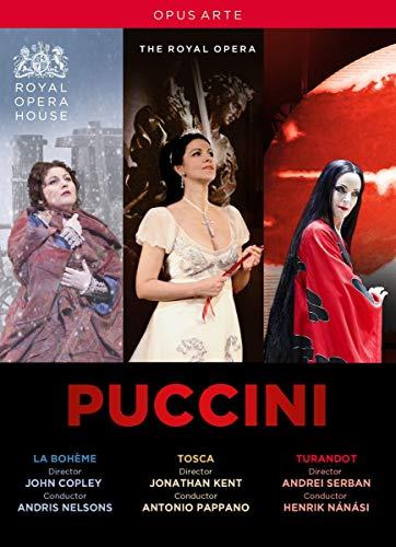 Puccini: La Bohème, Tosca & Turandot (Royal Opera House) [3 DVDs]