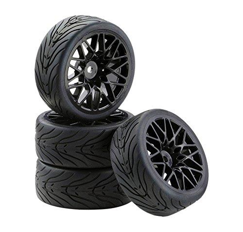 Carson 500900538 - 1:10 SC-Räder LM Style schwarz 4, Zubehör