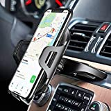 FLOVEME CD Car Phone Mount - Universal 360 Rotating Hands Free Grip Cell Phone Holder for Car Cd Player Slot for iPhone 11 Pro XS Max X XR 7 8 Plus Samsung Galaxy S11 S10 S9 Pixel 3 4 GPS Accessories