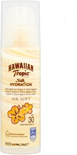 comprar comparacion HAWAIIAN Tropic Silk Air Soft SPF 30 - Crema Solar Ultraligera con Lazos de Seda, 150 ml