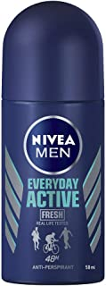 NIVEA MEN Everyday Active Fresh Roll On Anti-Perspirant Deodorant, 50ml