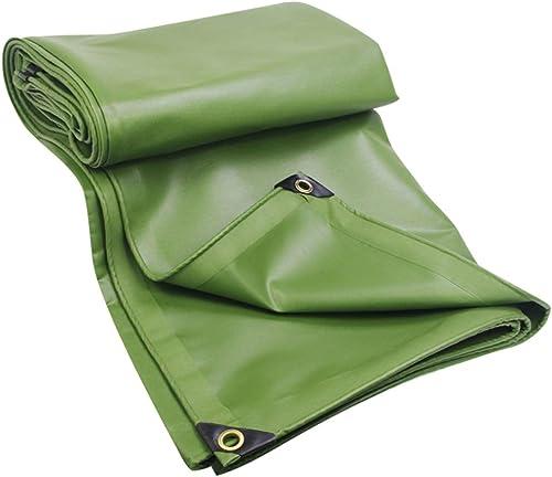 VertLZ Toile de Polyester de bache de Tente de Prougeection Solaire imperméable Verte de Bateau de Toit de bache enduite de PVC extérieur Multi-Fonction