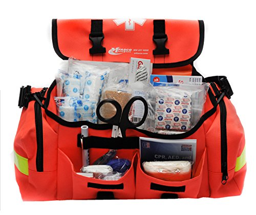 MFASCO - First Aid Kit - Complete Emergency Response Trauma Bag - for Natural Disasters -...