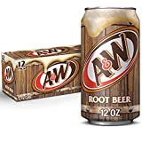 A&W Root Beer, 12 fl oz cans (pack of 12)