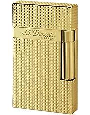 S.T. Dupont – Mechero de lujo – Línea 2 – el arte del fuego – Artesanía francesa – Acabado oro amarillo