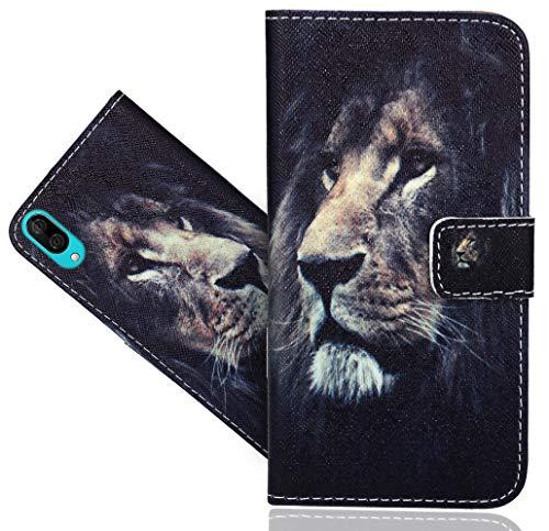 HülleExpert Wiko Y80 Handy Tasche, Wallet Hülle Flip Cover Hüllen Etui Hülle Ledertasche Lederhülle Schutzhülle Für Wiko Y80