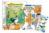 tiptoi Ravensburger 00036 - Juego de libro de aprendizaje y concentración, edición WLAN + 1 pegatina Create
