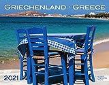 Griechenland Kalender 2021 | Wandkalender Griechenland im Großformat (58 x 45,5 cm)