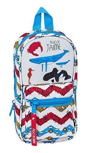 Safta 412005747 Plumier mochila 4 estuches llenos, 33 piezas, escolar Algo de...