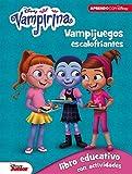 Vampirina. Vampijuegos escalofriantes (Libro educativo Disney con actividades): 5-7 años