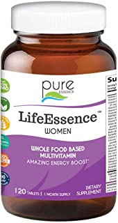 Pure Essence Labs LifeEssence Women's Formula - World's Most Energetic Multiple - The Master Multiple - 120...