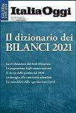 Il dizionario dei bilanci 2021: Tutte le voci del bilancio dalla A alla Z