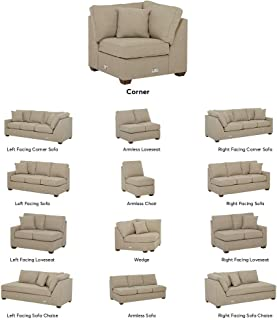 Stone & Beam Bagley Sectional Component, Corner, Fabric, 40