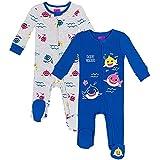 Pinkfong Baby Shark Baby Boys 2 Pack Zip-Up Sleep N'...