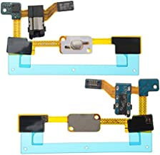 BisLinks for Samsung Galaxy J5 2015 Home Button Flex Cable Audio Headphone Jack SM J500 Replacement Part