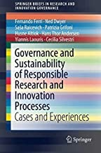 Governance and Sustainability of Responsible Research and Innovation Processes: Cases and Experiences
