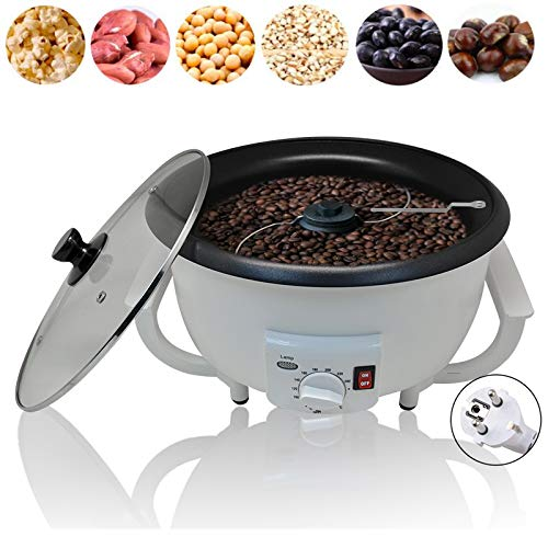 TOPCHANCES Coffee Bean Roaster Machine,750g 1200W Automatic Electric Coffee Bean Baker Coffee Baking Machine Peanut Bean Roaster for Cafe Shope Home -110V